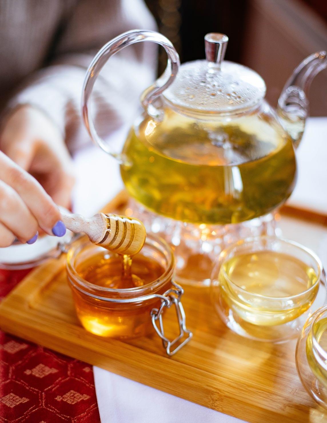 Honey tea spoon