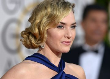 Los Angeles, California, USA. 10th January, 2016. Kate Winslet arrives at the Golden Globes, Los Angeles, CA Credit:  Sydney Alford/Alamy Live News