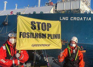 Joanna Flisowska, Greenpeace
