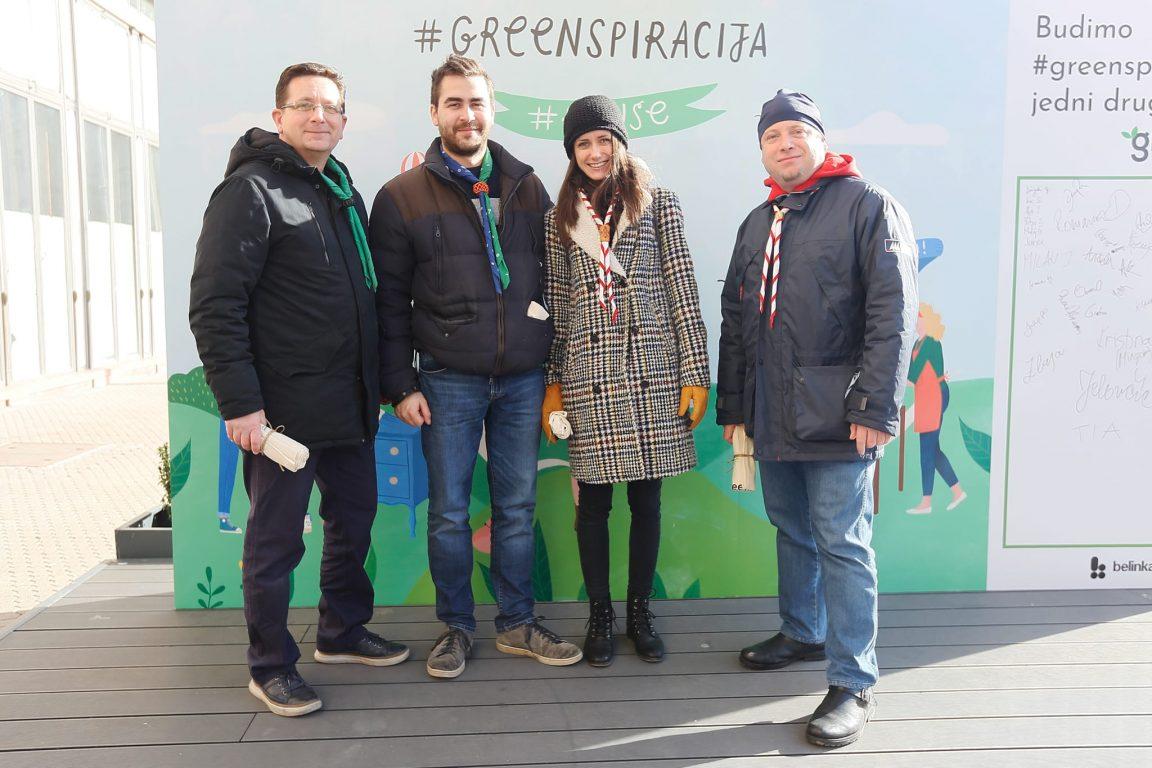 Saveza izviđača Hrvatske - Alen Konjević, Boris Vujnović, Ivana Kovačević i Dan Špicer