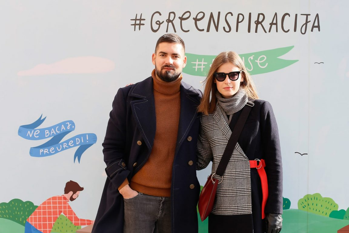 Osnivač platforme Green.hr Vinko Filipić i direktorica RED agencije Sanela Seferagić