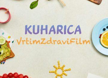 Naslovnica Kuharice Vrtim Zdravi Film