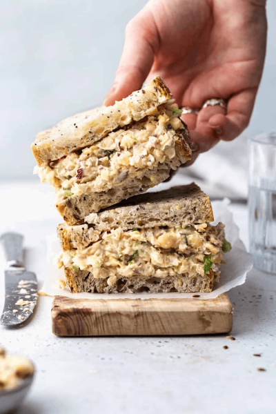 Vegan Chickpea Tuna Mayo