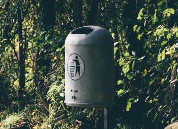 shallow-focus-photo-of-gray-steel-trash-bin-3529891